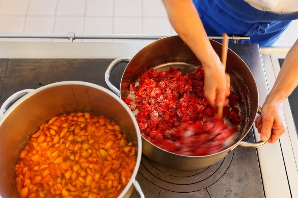 SŸdtirol, Kastelruth/Seis, Patenerhof, Ferien auf dem Bauernhof, Roter Hahn,