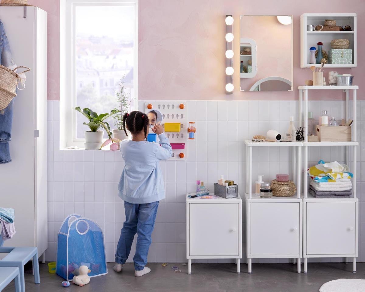 Credenza Bagno Ikea : Ikea panca bagno elegant emejing mobili shabby chic