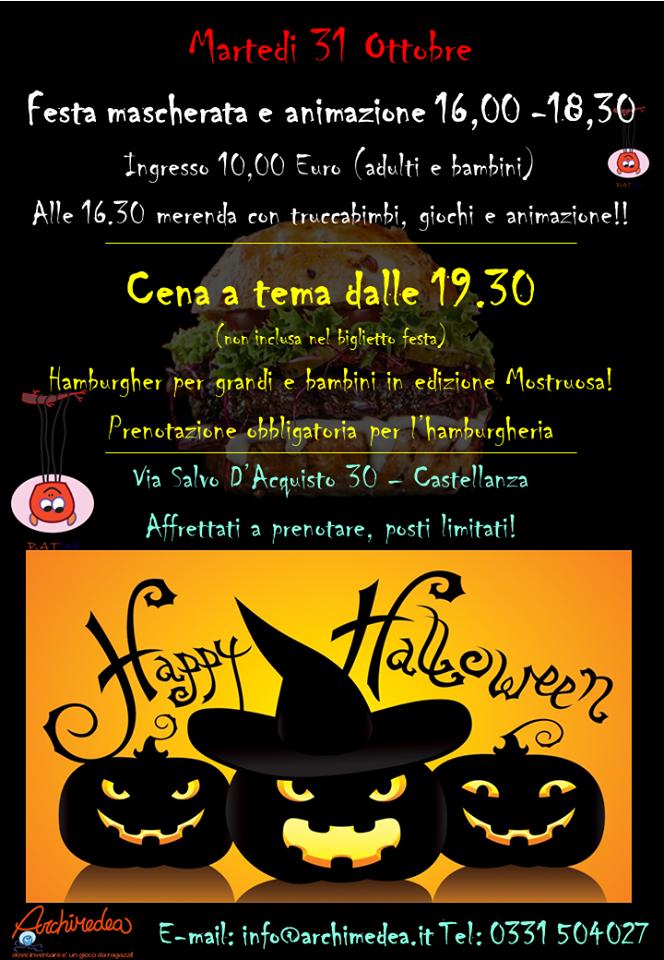 Ludoteca Archimedea Halloween
