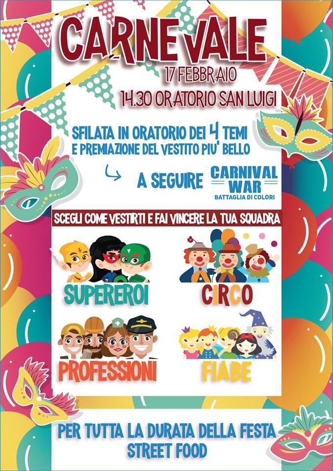 Canegrate Carnevale 2018