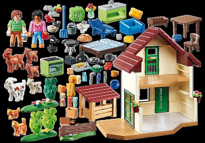Casa con allevamento Bio