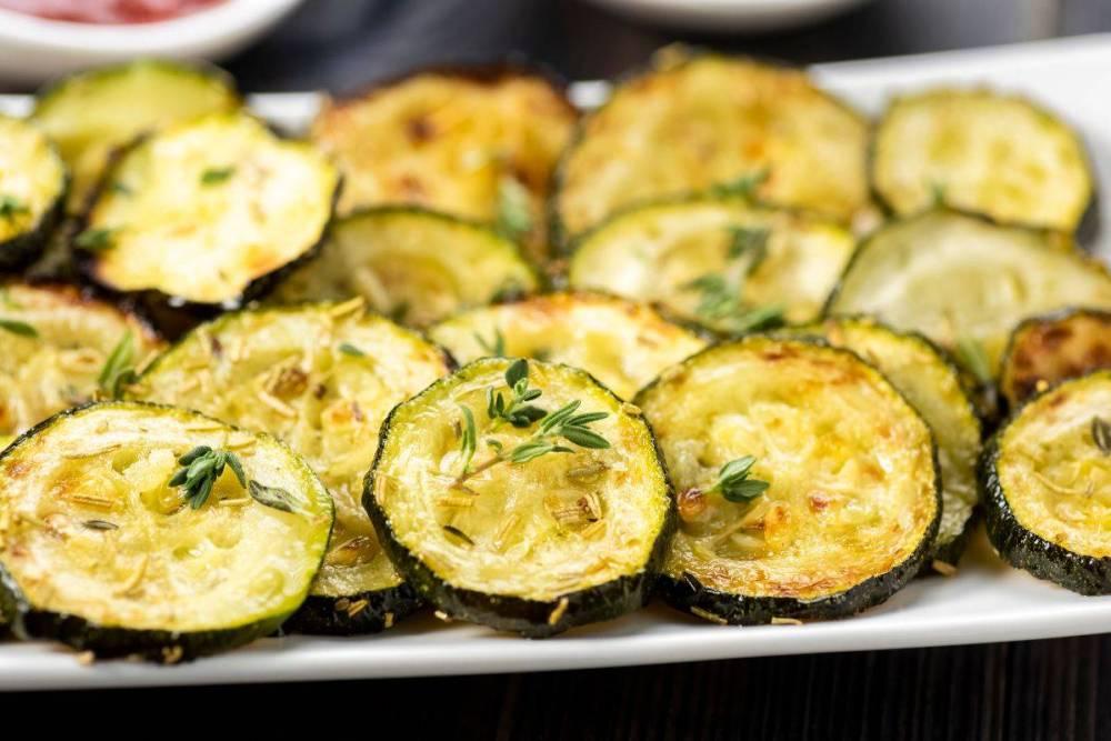 Zucchine-chips